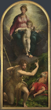 Parmigianino: 'The Madonna and Child with Saints'
