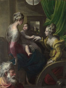 Mystic Marriage of St Catherine, Parmigianino