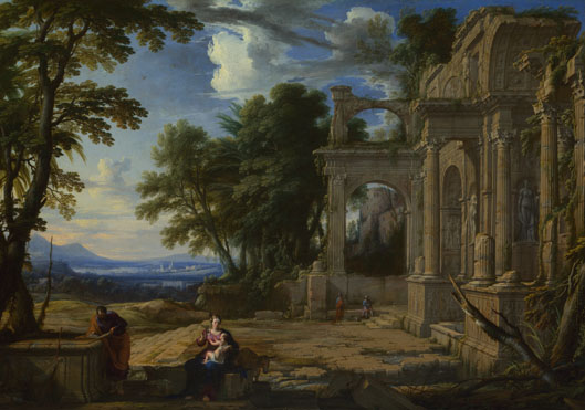 Pierre Patel: 'Landscape with the Rest on the Flight into Egypt'