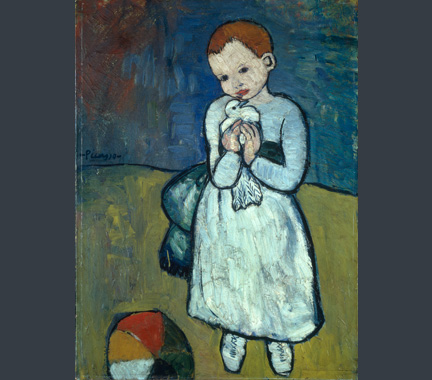 Picasso, 'Child with A Dove', 1901