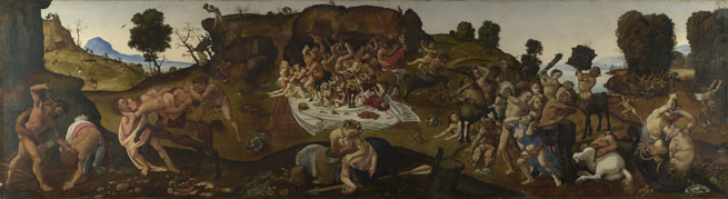 Piero di Cosimo: 'The Fight between the Lapiths and the Centaurs'