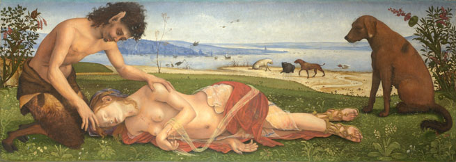 Piero di Cosimo: 'A Satyr mourning over a Nymph'