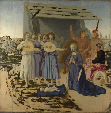 Piero della Francesca: 'The Nativity'