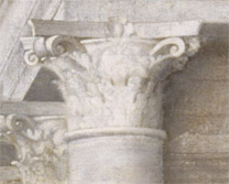 Sebastiano del Piombo: Detail of a capital from 'The Judgement of Solomon'.