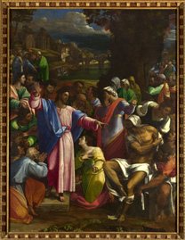Piombo, The Raising of Lazarus, about 1517-19