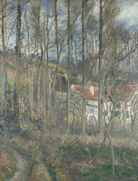 Camille Pissarro: 'The Côte des Bufs at L'Hermitage'