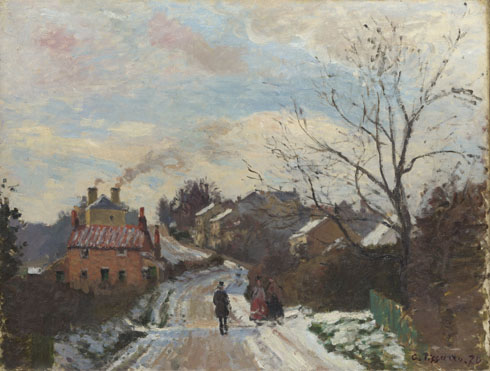 Camille Pissarro: 'Fox Hill, Upper Norwood'