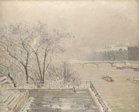 Camille Pissarro: 'The Louvre under Snow'