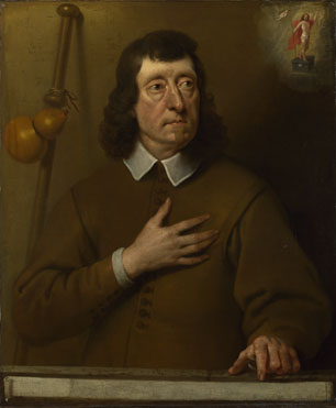 Pieter van der Plas: 'Portrait of a Man'