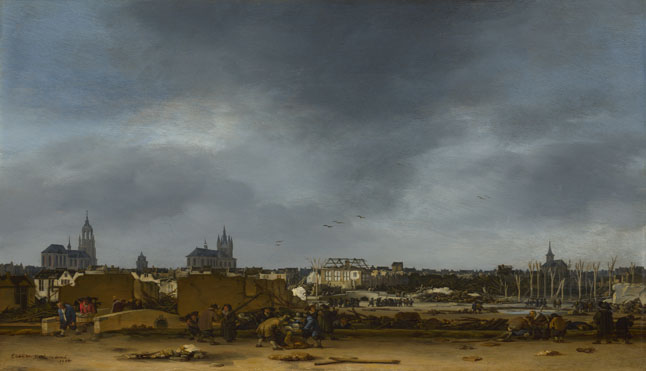 Egbert van der Poel: 'A View of Delft after the Explosion of 1654'