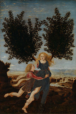 Antonio del Pollaiuolo: 'Apollo and Daphne'