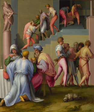 Pontormo: 'Pharaoh with his Butler and Baker'