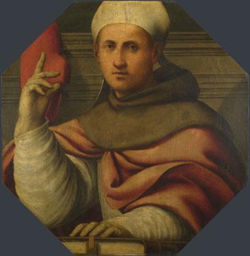 Giovanni Antonio Pordenone: 'Saint Bonaventure'