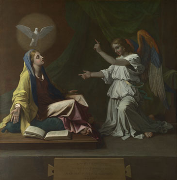 Nicolas Poussin: 'The Annunciation'