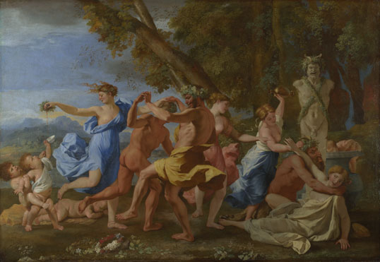 Nicolas Poussin: 'A Bacchanalian Revel before a Term'