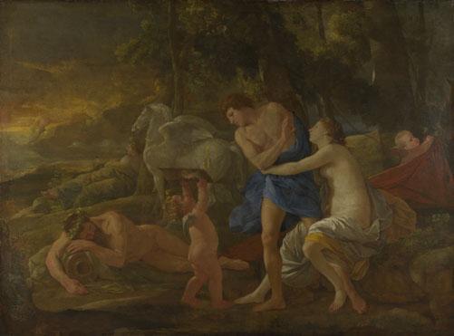 Nicolas Poussin: 'Cephalus and Aurora'