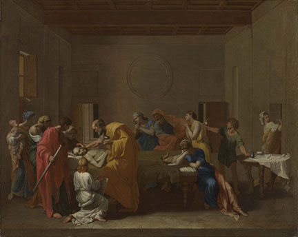 Nicolas Poussin, 'Extreme Unction', about 1637-40
