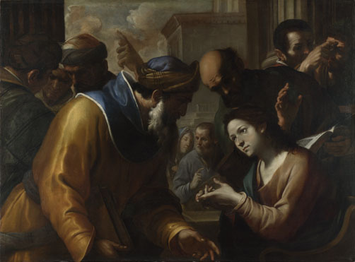 Gregorio Preti: 'Christ disputing with the Doctors'