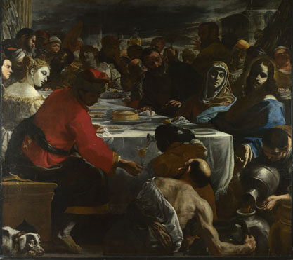 Mattia Preti: 'The Marriage at Cana'