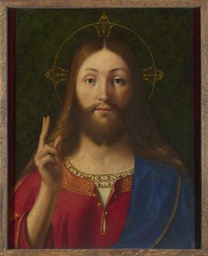 Andrea Previtali: 'Christ Blessing'