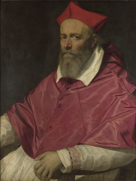 Scipione Pulzone: 'Portrait of a Cardinal'