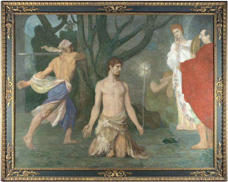 Pierre-Cécile Puvis de Chavannes: 'The Beheading of Saint John the Baptist'