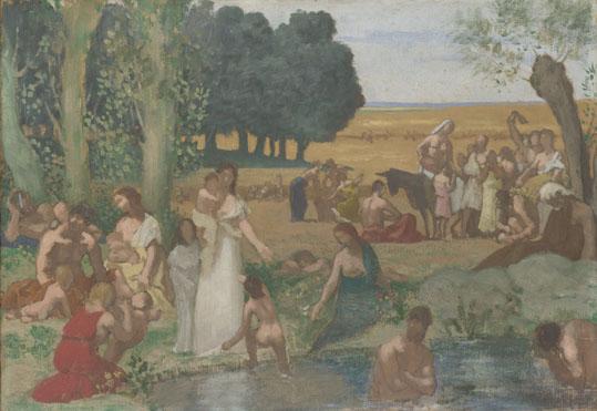 Pierre-Cécile Puvis de Chavannes: 'Summer'