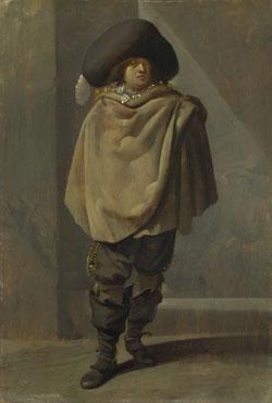 Pieter Quast: 'A Standing Man'