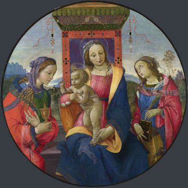 Raffaellino del Garbo: 'The Virgin and Child with Saints'