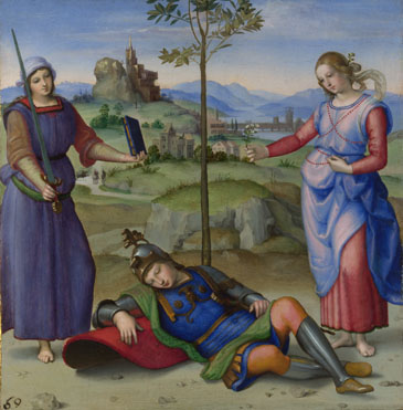 Raphael: 'An Allegory ('Vision of a Knight')'