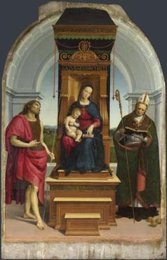 Raphael: 'The Ansidei Madonna'