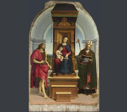 Raphael, The Ansidei Madonna, 1505