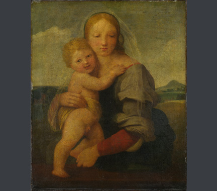 Raphael, The Madonna and Child, about 1509-11