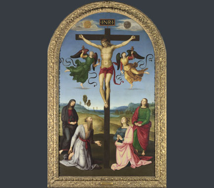 Raphael, The Mond Crucifixion, about 1502-3