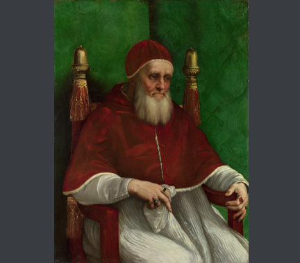 Raphael, Portrait of Pope Julius II, 1511