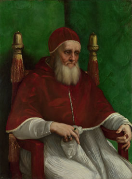 Raphael: 'Portrait of Pope Julius II'