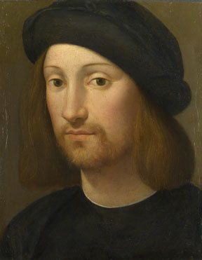 Imitator of Raphael: 'Portrait of a Young Man'