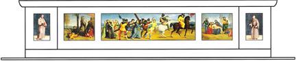 Raphael predella reconstruction