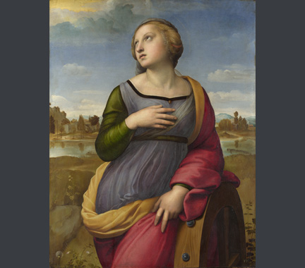 Raphael, Saint Catherine of Alexandria, about 1507