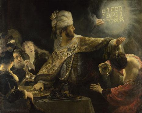 Rembrandt: 'Belshazzar's Feast'