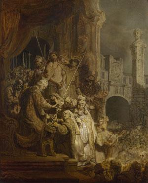 Rembrandt: 'Ecce Homo'