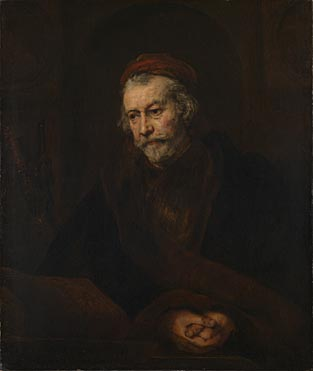 Rembrandt, 'An Elderly Man as Saint Paul'