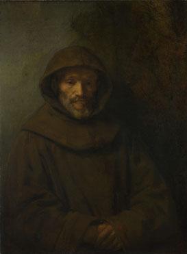 Rembrandt: 'A Franciscan Friar'