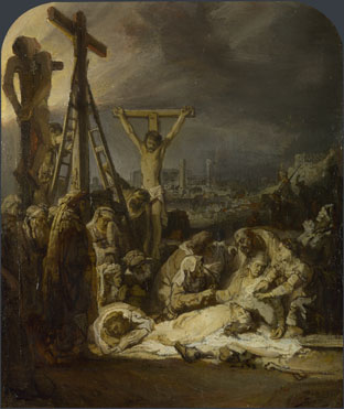 Rembrandt: 'The Lamentation over the Dead Christ'