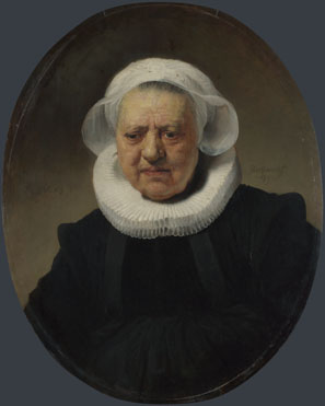 Rembrandt: 'Portrait of Aechje Claesdr.'