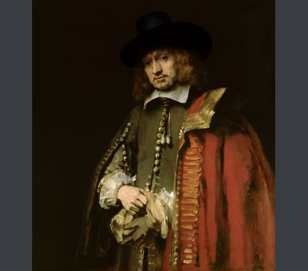 Rembrandt, 'Portrait of Jan Six', 1654 © Six Collection / Bridgeman Art Library, London