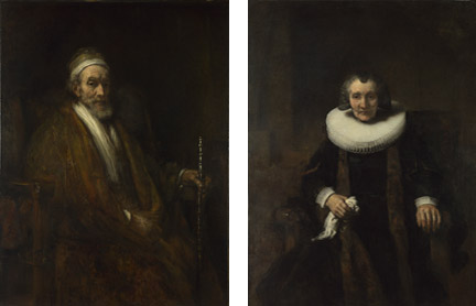 Rembrandt, 'Portraits of Jacob Trip and his Wife Margaretha de Geer', about 1661 © The National Gallery, London