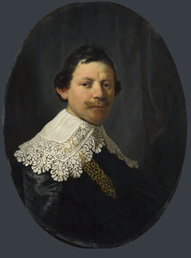Rembrandt: 'Portrait of Philips Lucasz.'