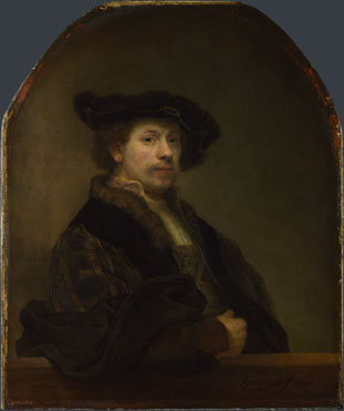 Rembrandt: 'Self Portrait at the Age of 34'