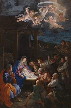 Guido Reni: 'The Adoration of the Shepherds'